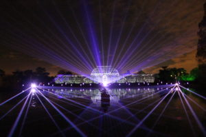 Laser Light Show at Kew - Gary Doodney