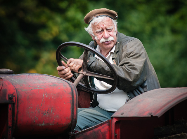 Tractor Driver  Steve Chick