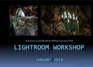 Lightroom slide