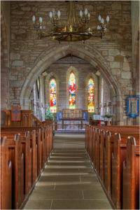 Lindisfarne Church Interior