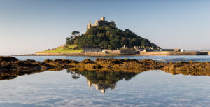 St Michaels Mount reflection - Malcolm Balmer