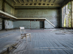 Decaying Gymnasium, Pripyat