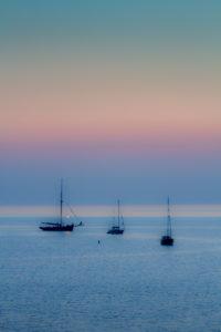 Hope Cove: dusk.