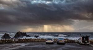 Storm Atiyah at Hartland Quay