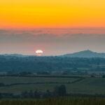 Peter - Sunset over Glastonbury