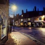 Fo - Sherborne at Night, Top of Town
