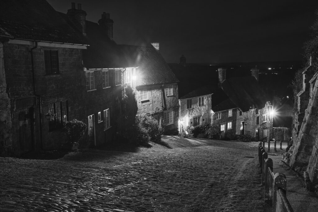 Gold Hill, Shaftesbury - David Hansford