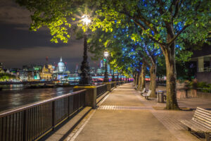 Peter - Queen's Walk, London by Night